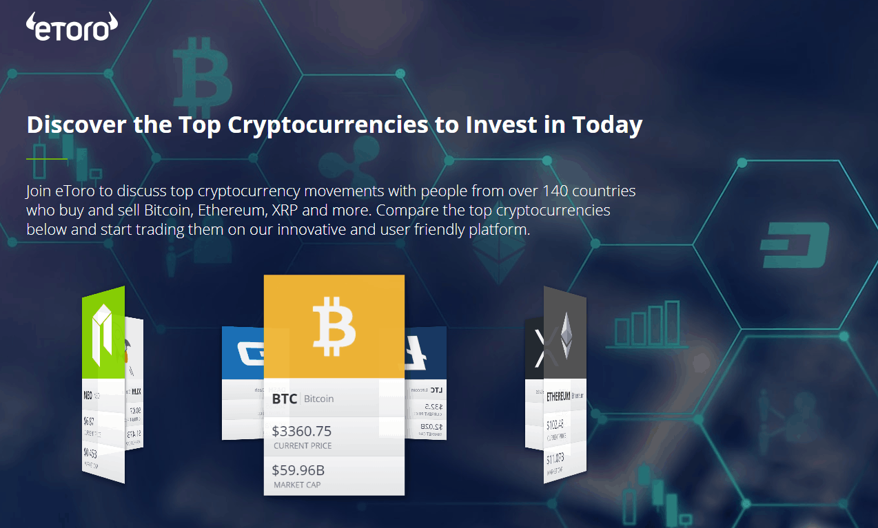 Etoro can i send cryptocurrency tp wallet