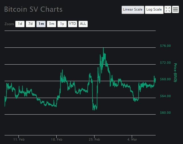 Bitcoin SV Price Analysis March 8 (2)