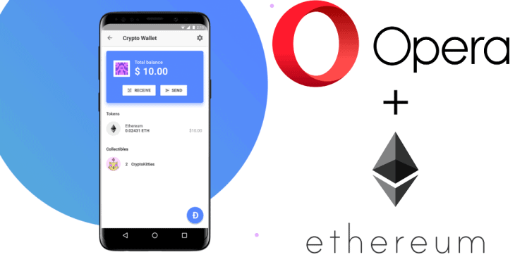 Crypto Wallet Services by Opera Browser to arrive to 1