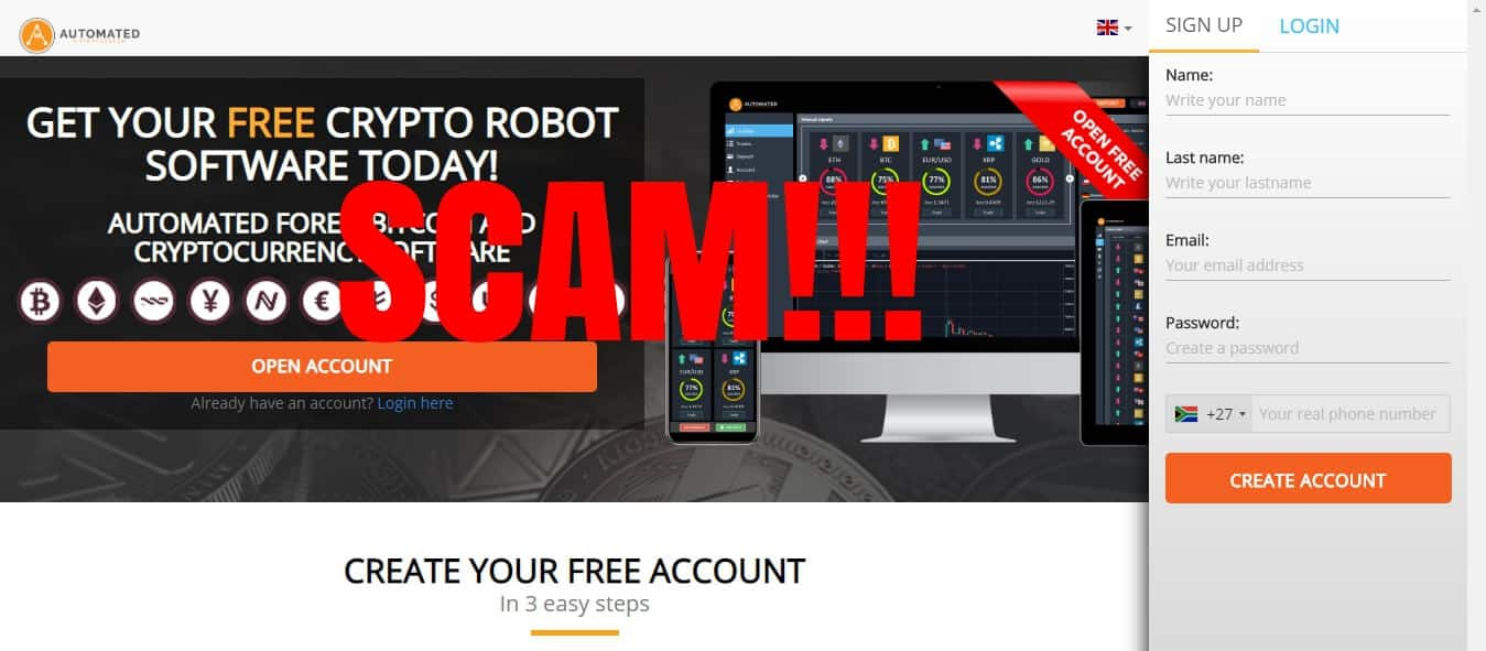 automated trading robot cryptocurrency