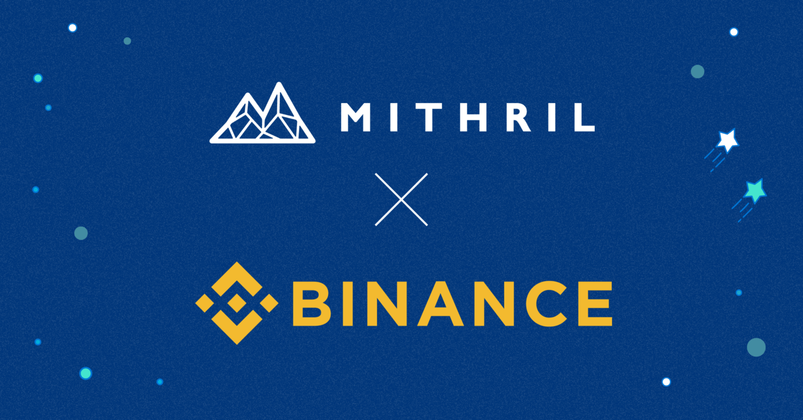 Binance's First Mainnet Launch Mithril to Have MITH/USDT Trading Pair