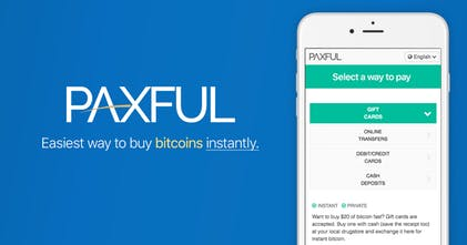 register paxful account