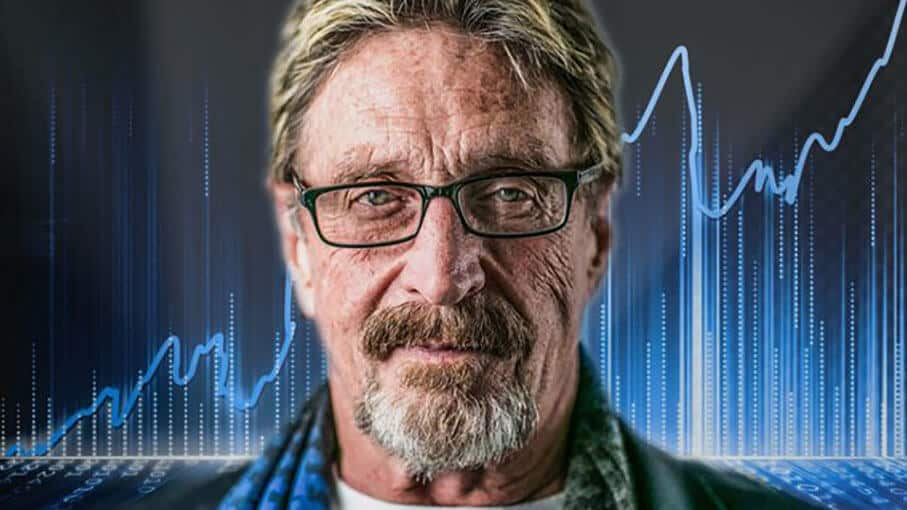 John McAfee Puts Fuel to Fire, Claims To Know Who Satoshi Nakamoto Is
