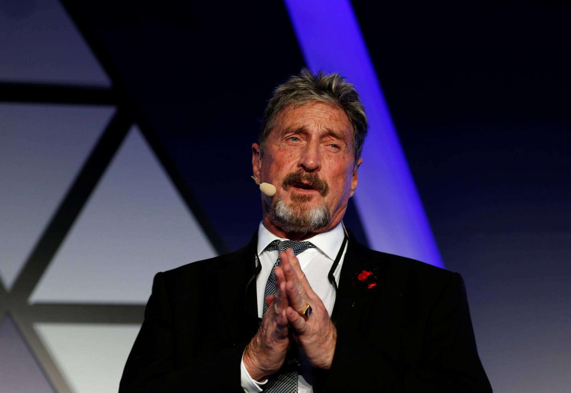 The Brain Behind Bitcoin Is Very Much Alive; John McAfee Drops Shocking Revelations