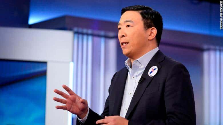 US Presidential Candidate, Andrew Yang Promises to Stabilize the Country's Crypto Regulations
