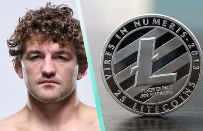 Litecoin Price Breaks $100 Barrier, UFC's Funky Askren Tweets About It