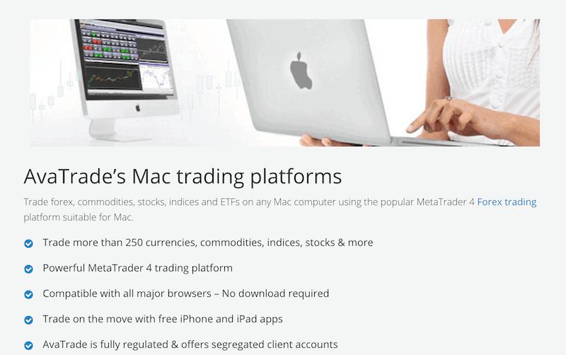 AvaTrade MT4 Mac