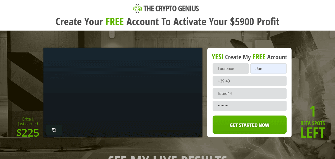 Crypto Genius Scam or Legit? RESULTS of our $250 Test 2019