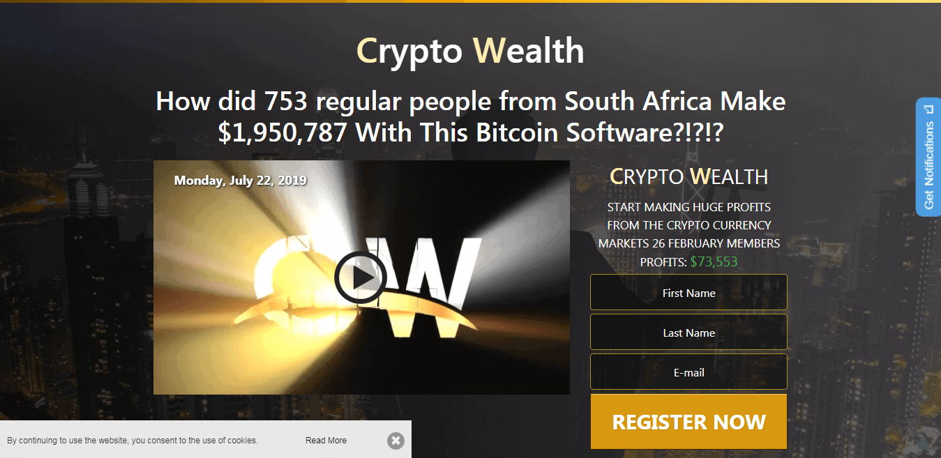 Crypto Wealth App Scam or Legit? RESULTS of the $250 Test 2019
