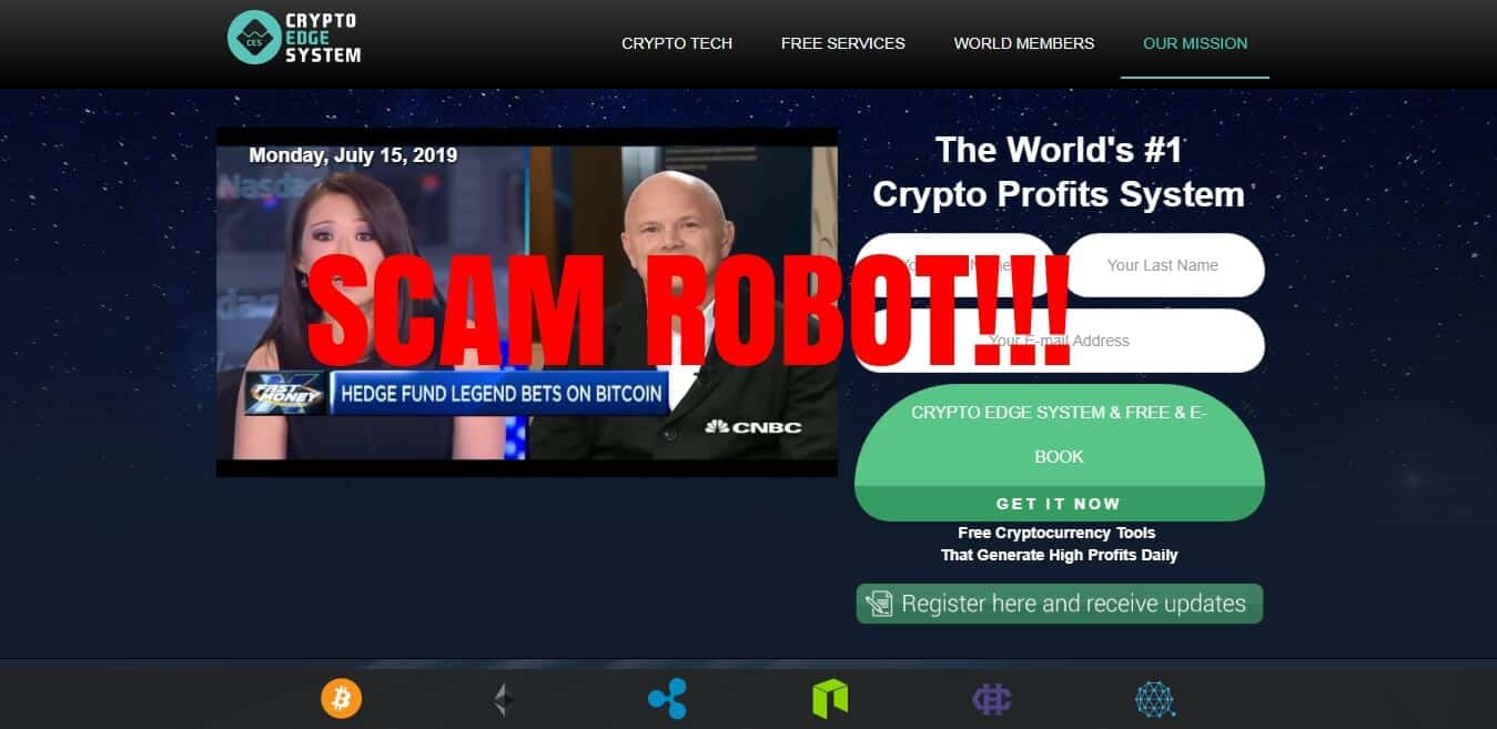 Crypto Edge System Scam or Legit? RESULTS of the $250 Test 2019