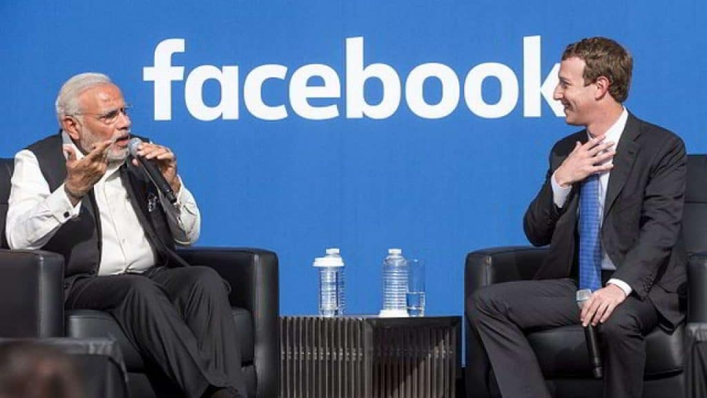 facebook and india