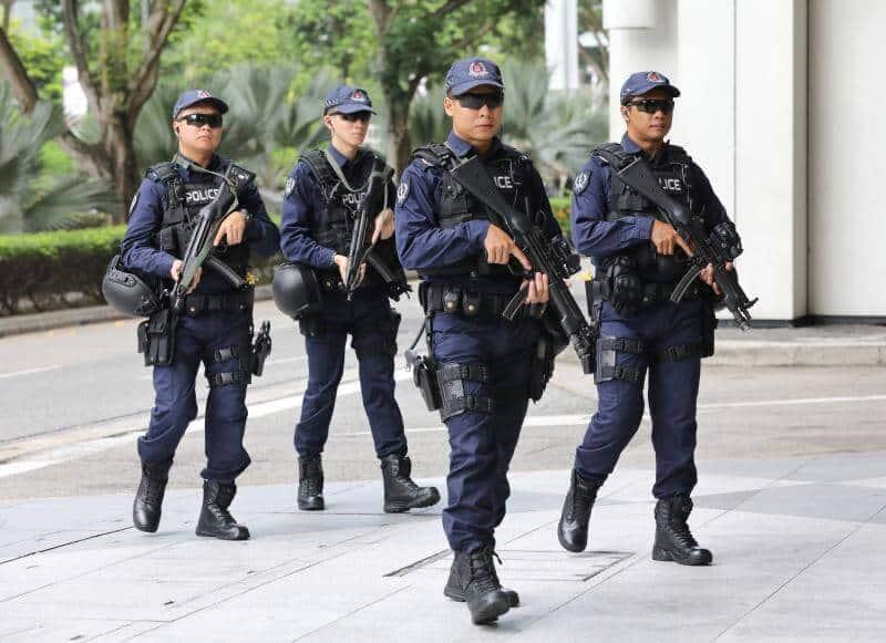 APAC singapore police