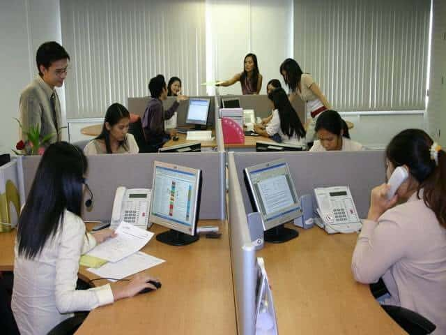 thailand call center