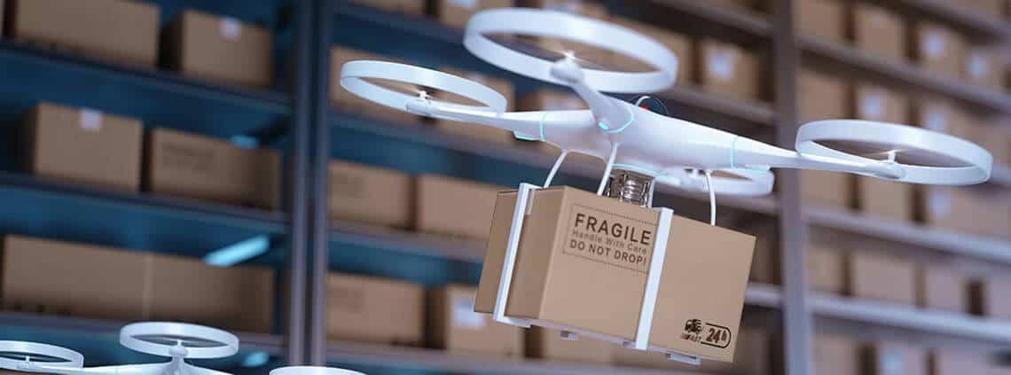 drones blockchain