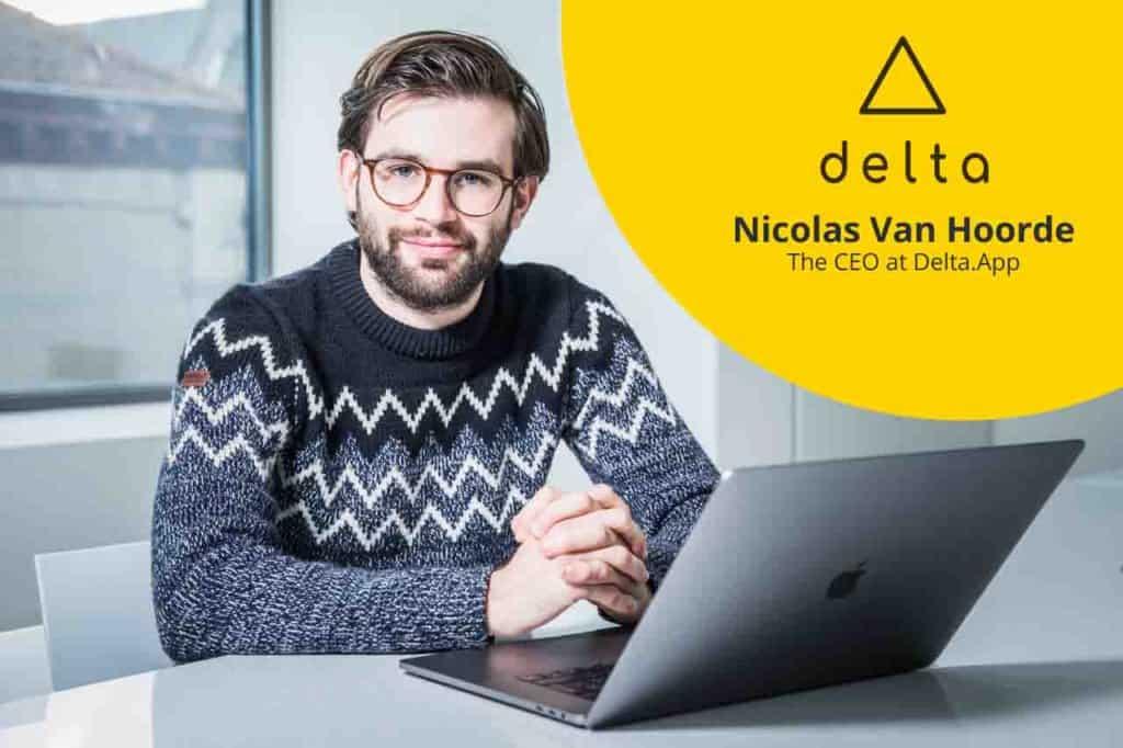 Interview Delta app Nicola Van Hoorde