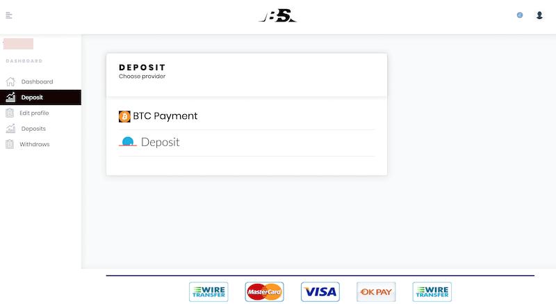Bitcoin Union Deposit