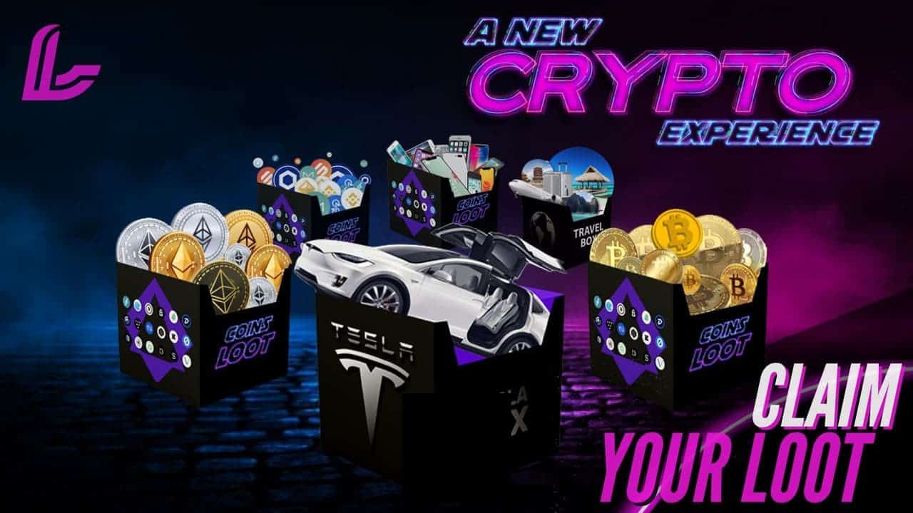NEW TOKEN - CoinsLoot The World's First Crypto Loot <bold>Boxes</bold>