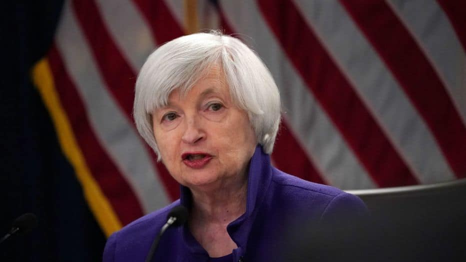 Janet Yellen Says Crypto's Only Bane Is Its Use For Criminal Activities
