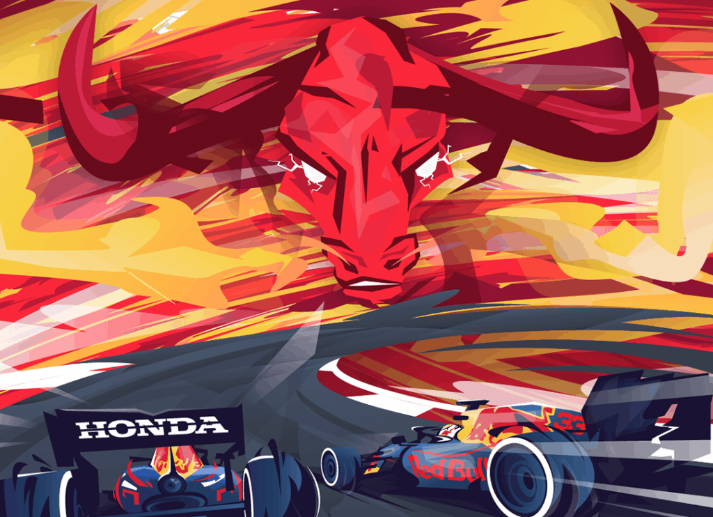 Red Bull Racing Honda and Tezos in NFT partnership