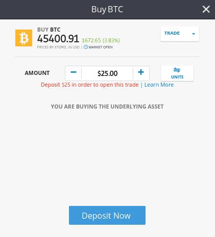 criptovaluta trading etoro day trading di bitcoin su robinhood