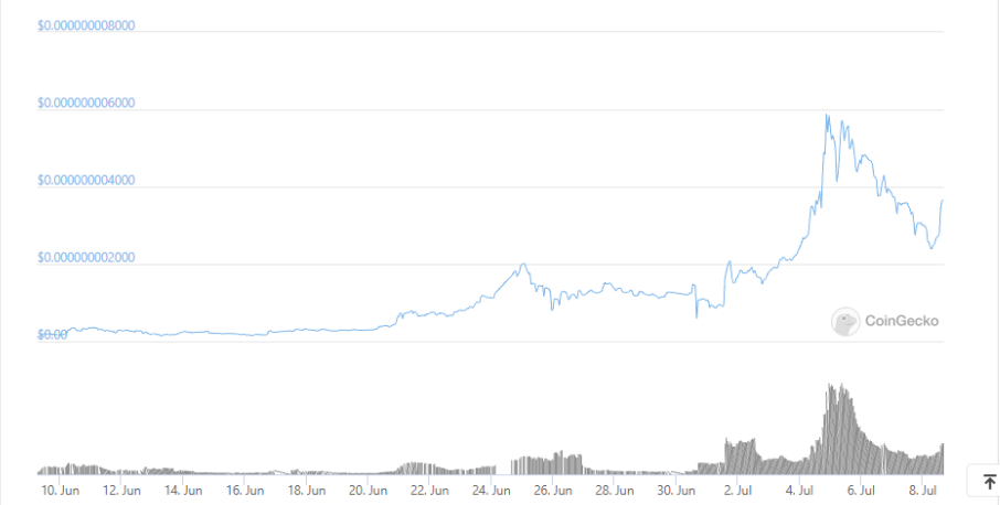 Baby Doge Coin July 8