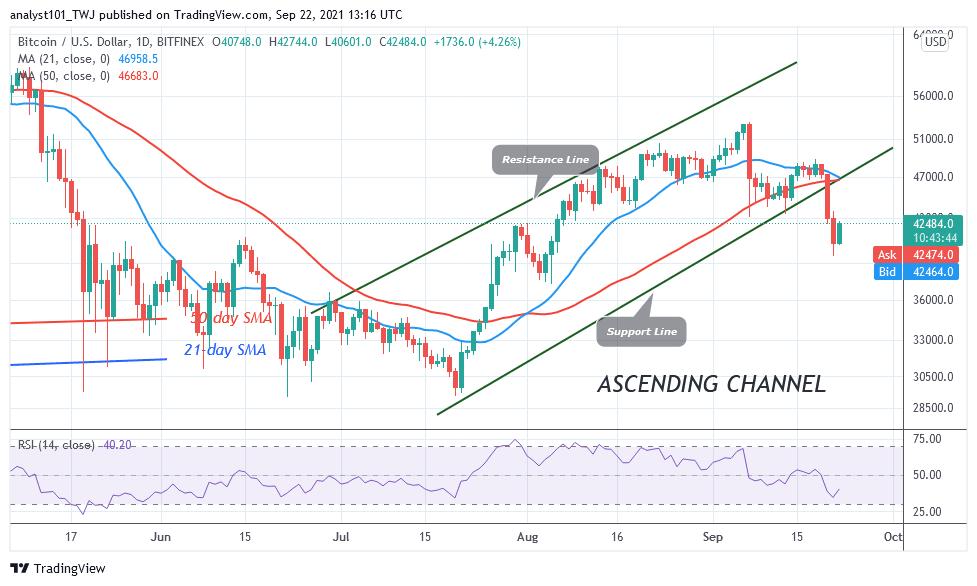 Bitcoin (BTC) Price Prediction: BTC/USD Surges Ahead as Buyers Recoup Above $40k