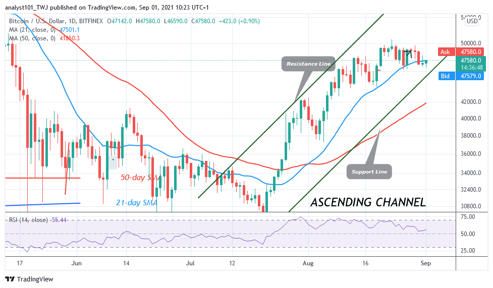 Bitcoin (BTC) Price Prediction: BTC/USD Holds above $47K as Buyers Push on the Upside
