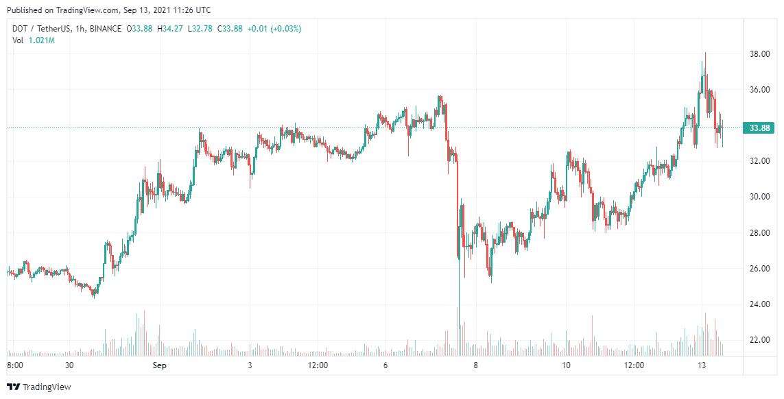 Polkadot Price Analysis 13 Sep