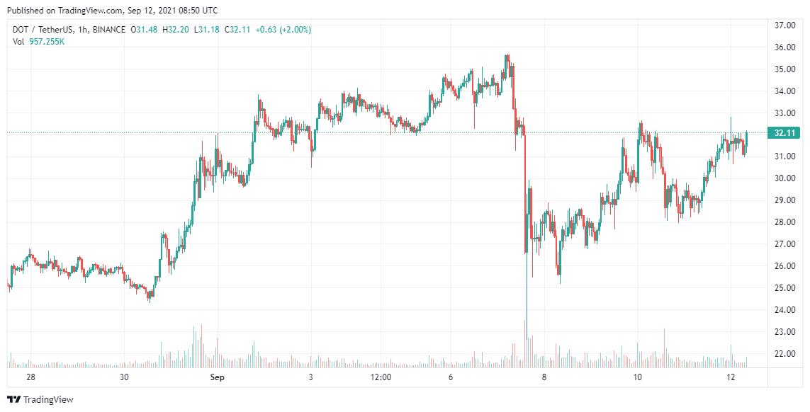 Polkadot Price Analysis Sep 12
