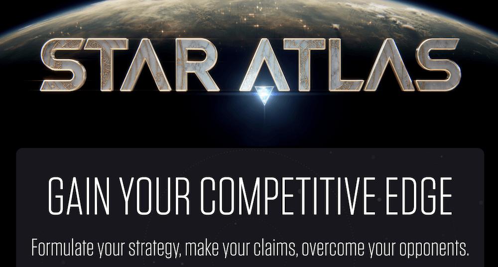NFT games - star atlas