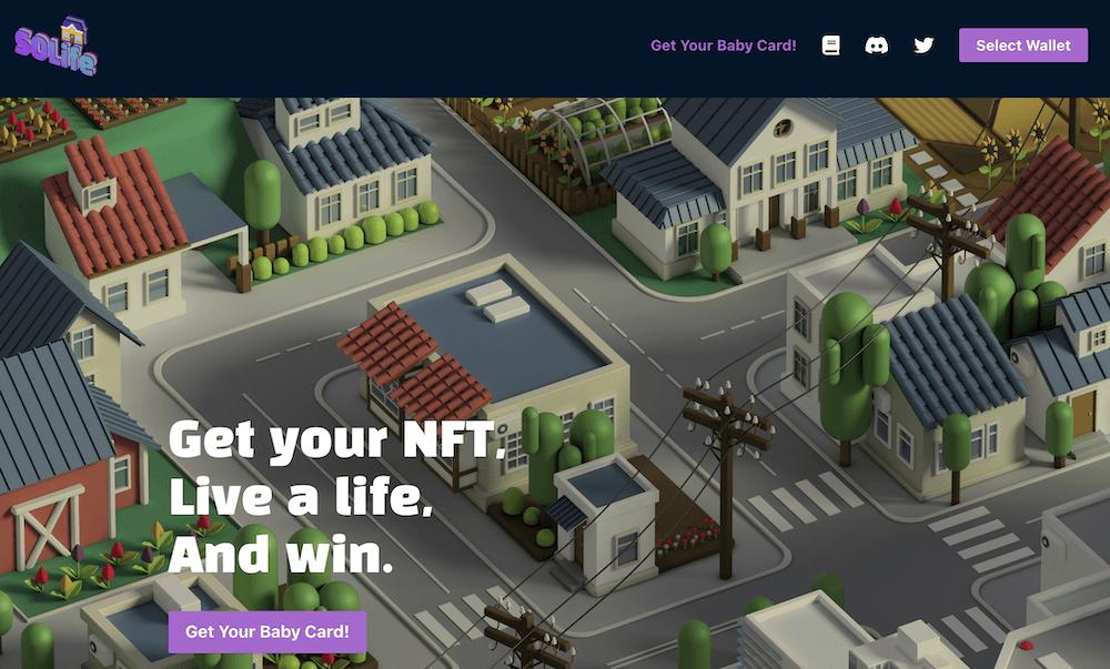NFT games - SOlife
