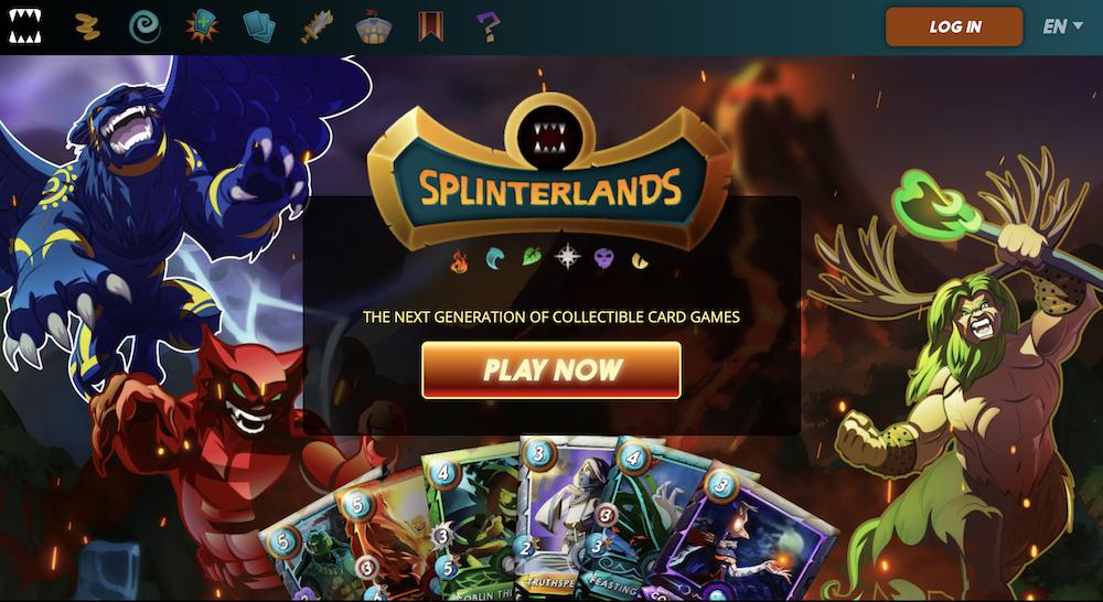 NFT games - splinterlands