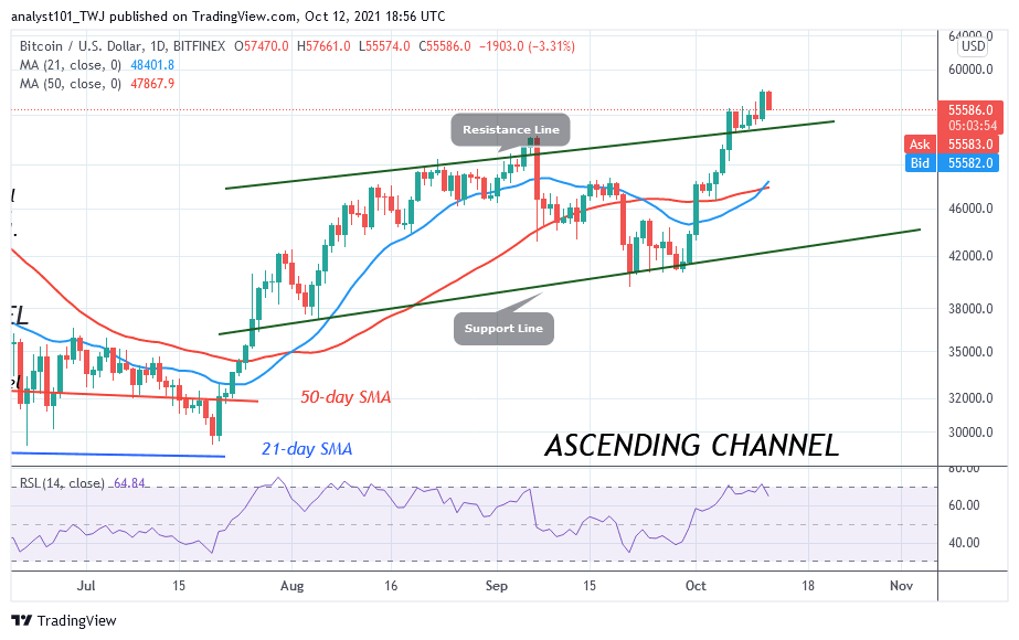 Bitcoin (BTC) Price Prediction: BTC/USD Set for More Upside Momentum as Bitcoin Holds Above $54k